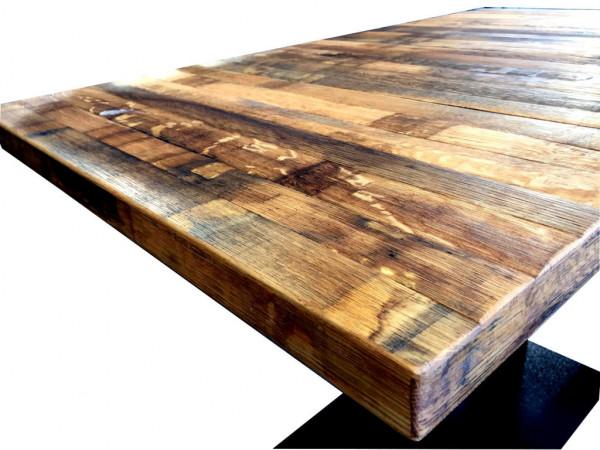 Weinfässer Tischplatte - Rustik geölt