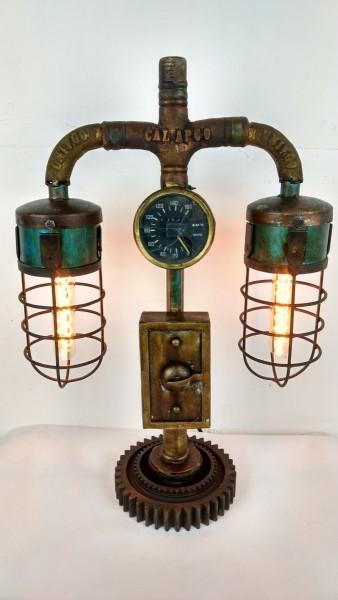 """Industrial Design Lampe """"Vintage Pipe"""""""