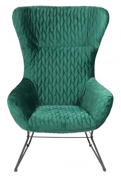 """Lounge Sessel """"Grace"""" green"""