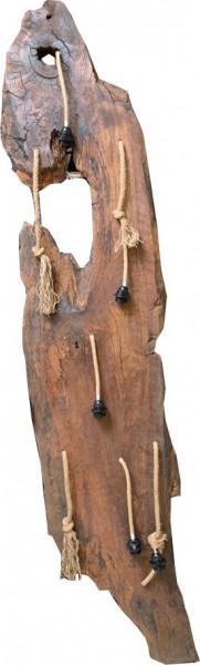 "Hängelampe Natural Vintage Unikat Esche Massivholz ""Baumstamm-L"""