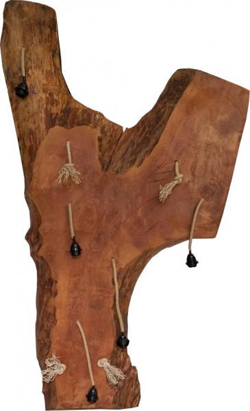 """Hängelampe Natural Vintage Unikat Esche Massivholz """"Baumstamm-S"""""""