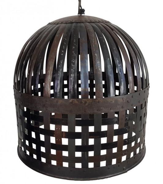 """Tisch-Lampe Leuchte Pipe Steampunk Industrial Industrie Art Retro Vintage Design """"Vintage Cage"""""""