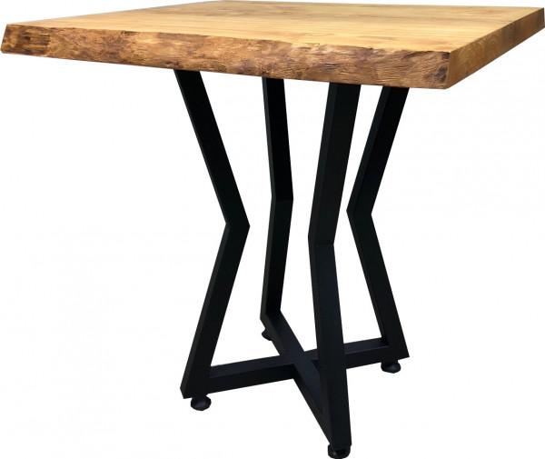 Tischkombination Massiv-Esche 50mm mit Baumkante