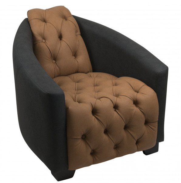 """Lounge Sessel """"Liberty Buttons"""""""