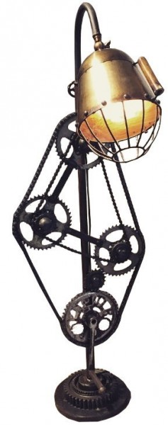 "Industrial Design Lampe ""Vintage Bike"""