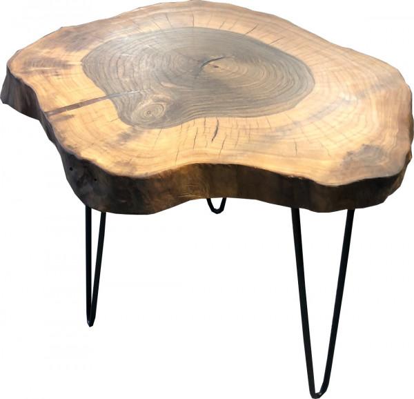 Baumscheibe lounge tisch massivholz walnuss unikat - Tisch baumscheibe ...