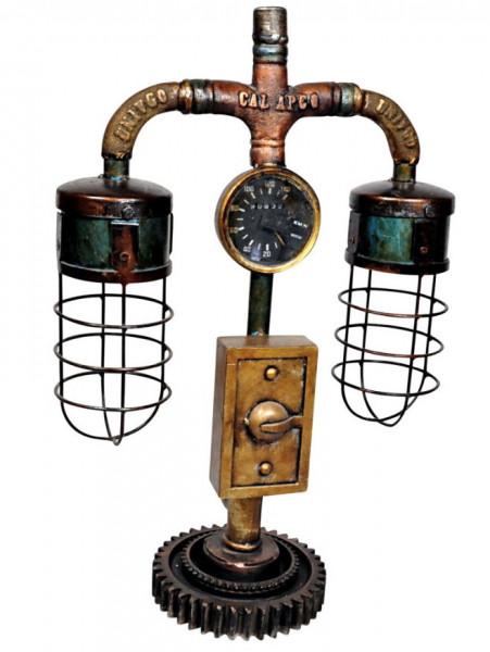 """Tisch-Lampe Leuchte Pipe Steampunk Industrial Industrie Art Retro Vintage Design """"Vintage Pipe"""""""