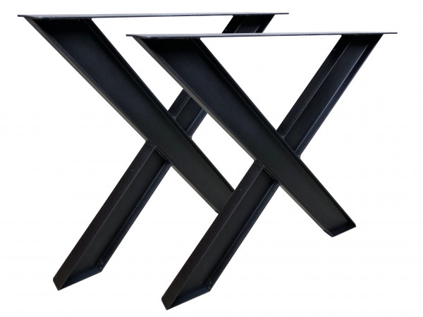 "Tischgestell ""X Industrial-Fineline Double"""