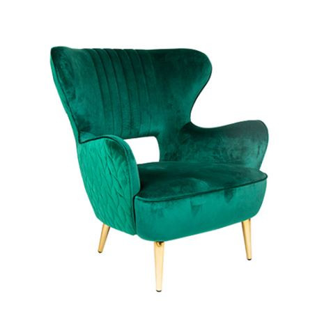 """Lounge Sessel """"Pagna"""" green"""