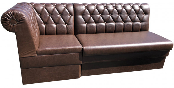 "Lounge Banksystem ""Chesterfield Round"""