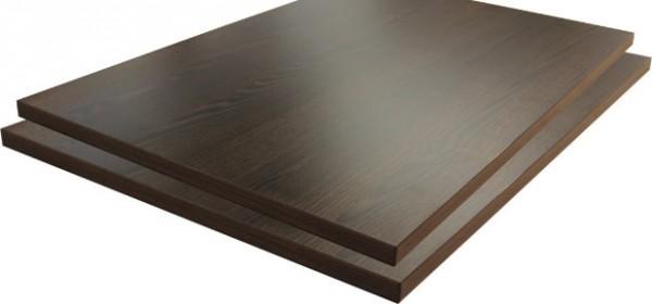 Tischplatte HPL-Beschichtet 50 mm / Aufgedoppelt