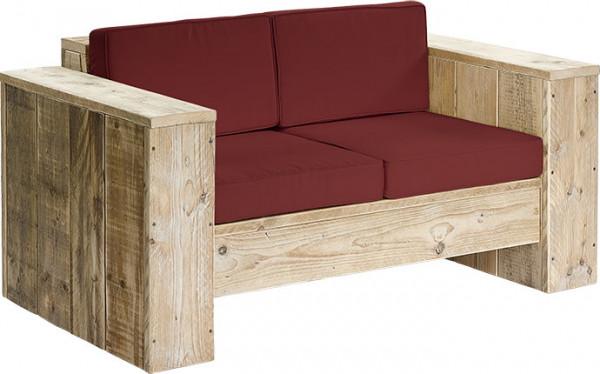 """Bauholz Lounge Sitzbank """"Natur 2-Sitzer"""""""