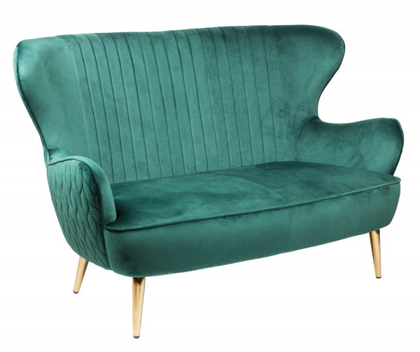"Lounge Sofa 2er ""Pagna"" green"